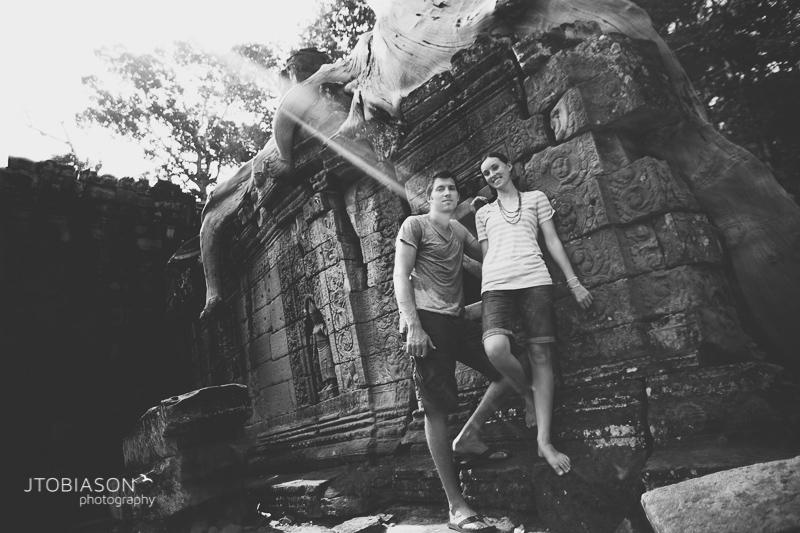 Engagement Photos Angkor Wat