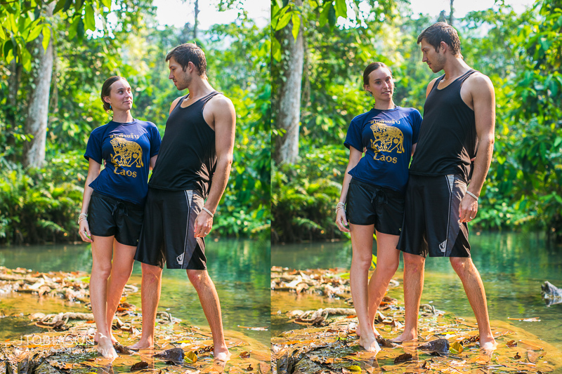 Modeling couple laos love