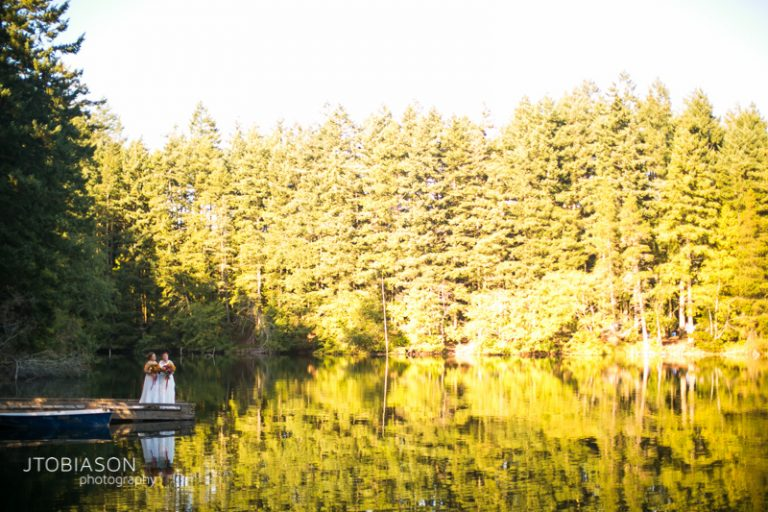 Katie and Michelle | Orcas Island Wedding