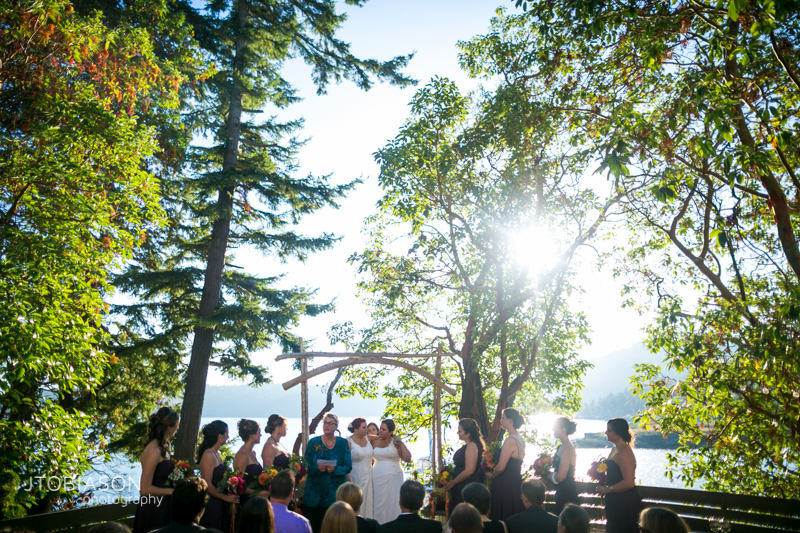 Orcas Island Wedding at Odd Fellows Hall photo