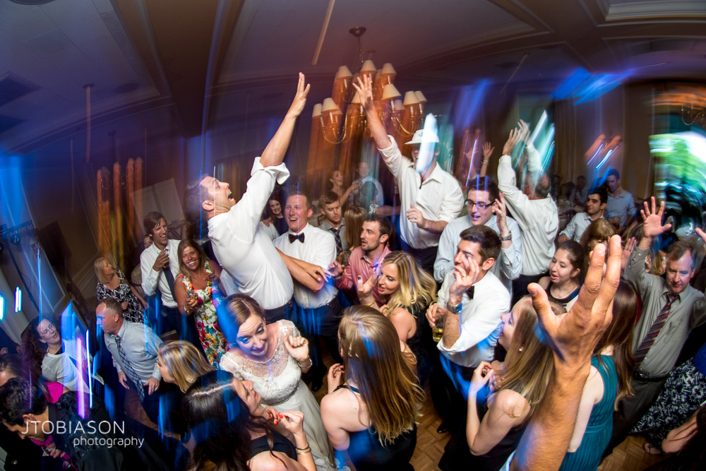 Dance Party at Seattle Tennis Club Wedding photo