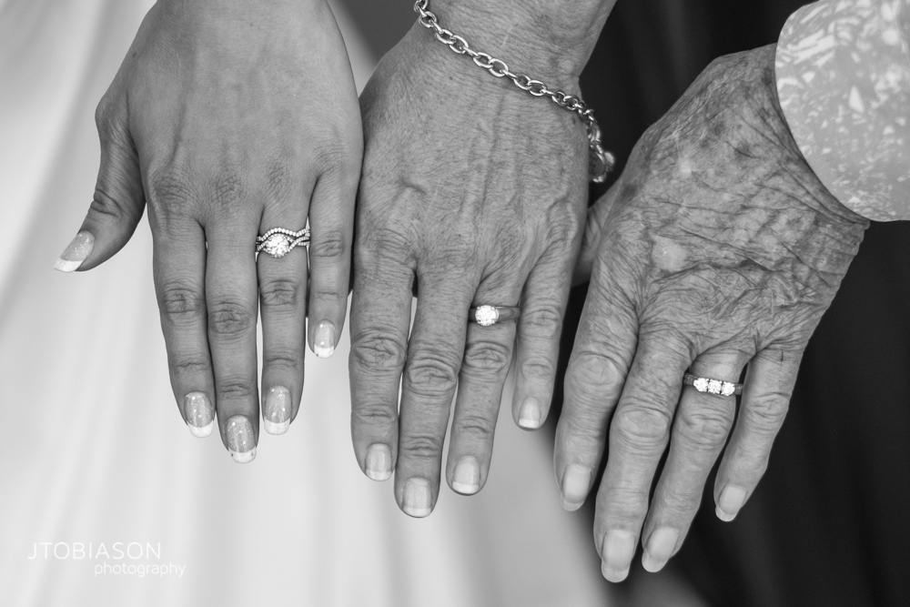 three generations of rings photo