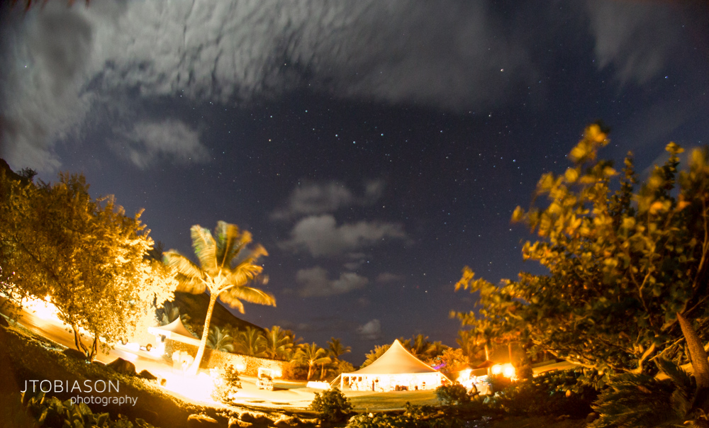 Night sky kauai photo