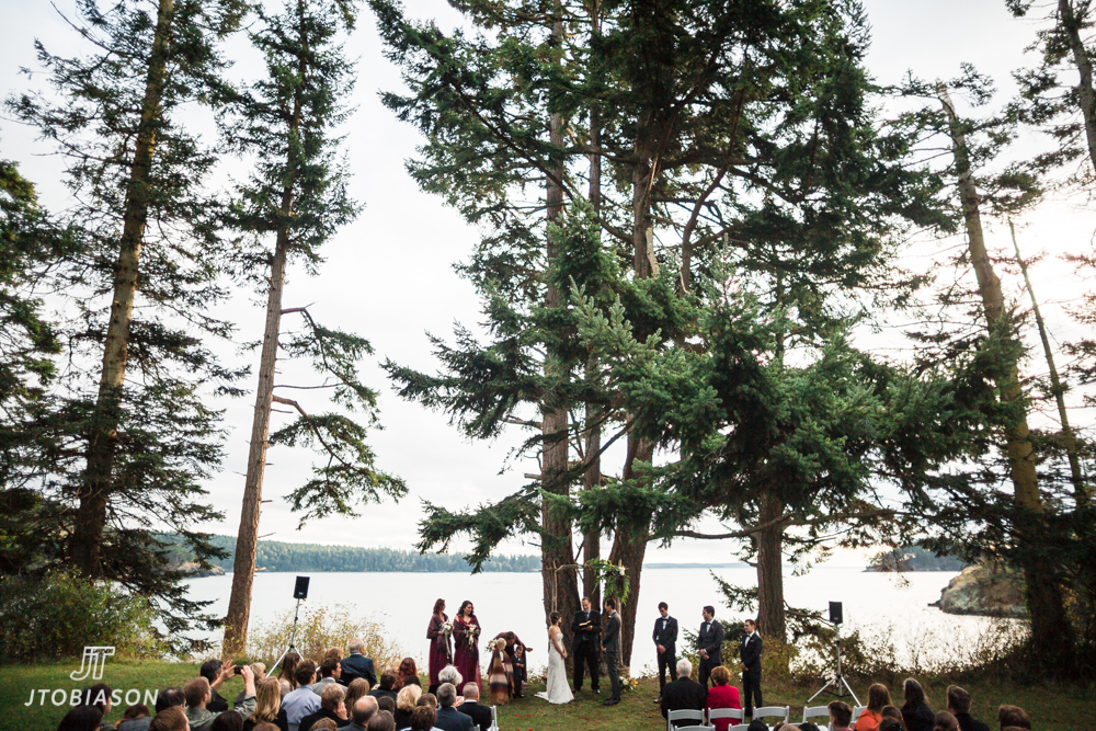 deception pass state park wedding