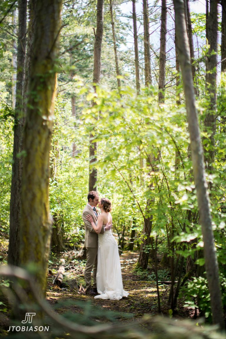 Andrea & Jacob | Cama Beach State Park Wedding