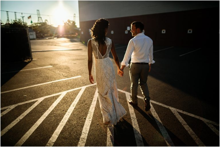 Jose Rizal Bridge Wedding | Riley & Thelben