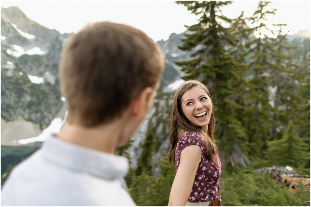 PNW hiking engagement