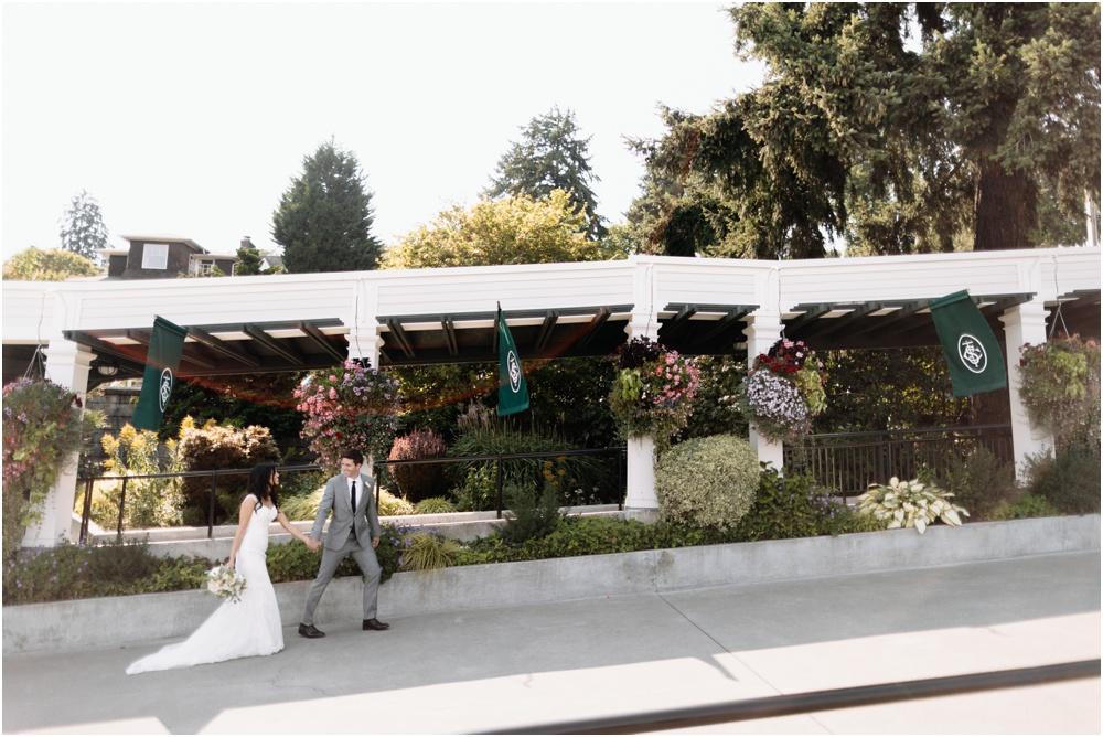 Seattle Tennis Club Wedding