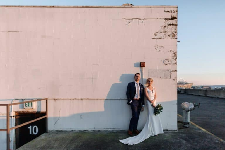 AXIS Pioneer Square wedding | Michael and Kaely