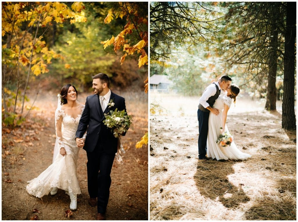 bride and groom together brown family homestead wedding