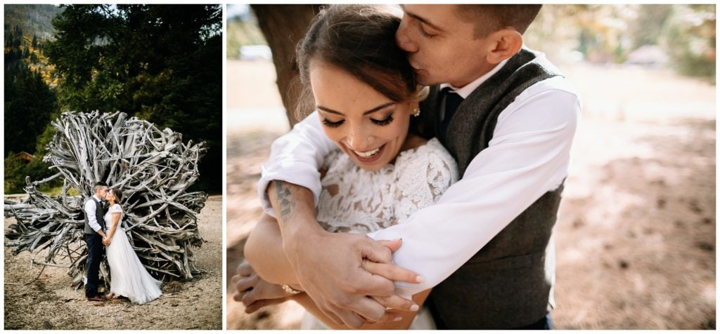 brown family homestead wedding