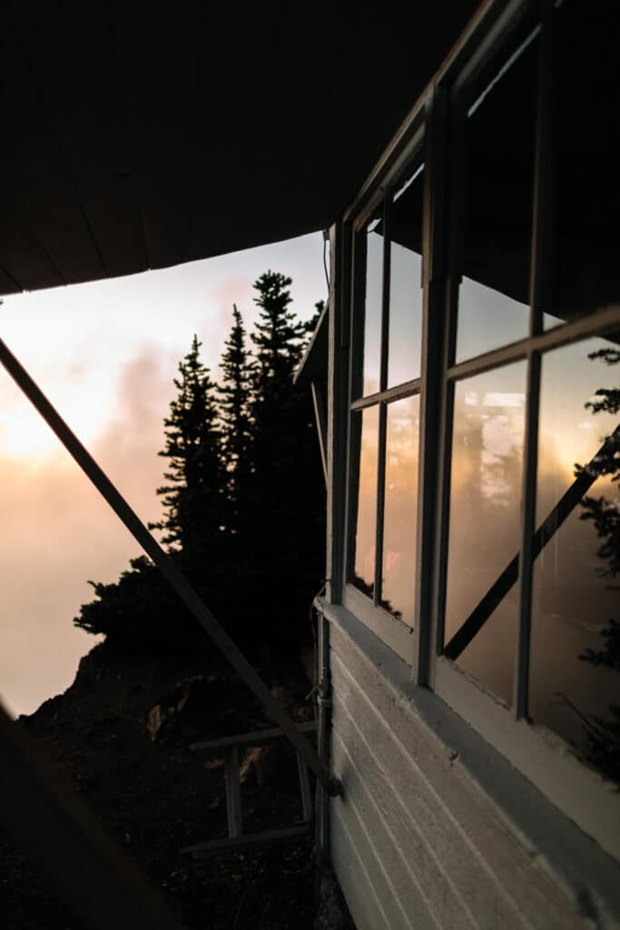 fire lookout in north cascades