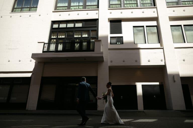 Seattle Backyard Wedding | Devan & Tait