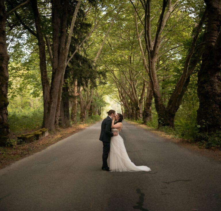 Blair & Sydney | Salish Lodge wedding